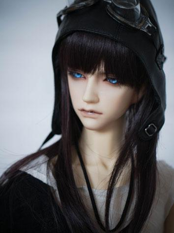 BJD Male/Female Black Hair ...