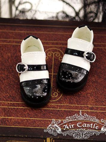 Bjd Girl Black&White Flat s...