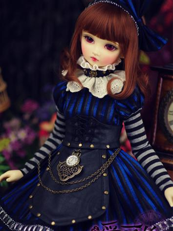 【Limited Item】BJD Clothes 1/3 Girl Crazy Alice Dress Suit for SD Ball-jointed Doll