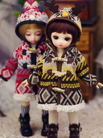 【Limited Item】BJD Clothes 1/6 Boy/Girl Baby Warm Coat for YSD Ball-jointed Doll