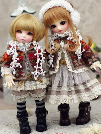 【Limited Item】BJD Clothes 1/6 Boy/Girl Baby Winter Beauty Suit for YSD Ball-jointed Doll