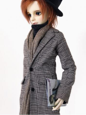 BJD Clothes Boy Long Coat S...