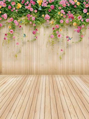 BJD Background/Scenery/Backdrop Photography Flowers Wall Settings y1000 Ball-jointed Doll