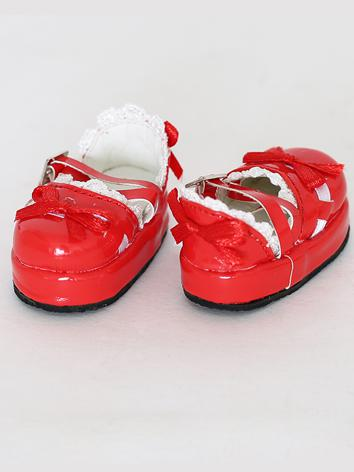 1/6 Shoes Girl Red/White/Bl...