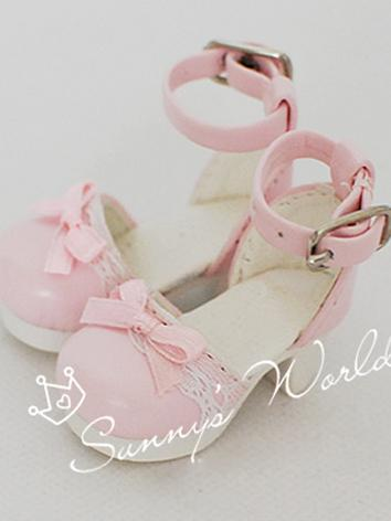1/6 Shoes Girl Sweet White/...