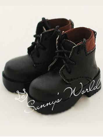 1/6 Shoes Boy/Girl Brown/Bl...