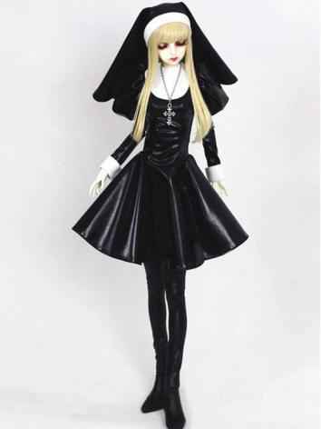 Bjd Clothes Girl【killer nun】Dress for SD16/SD10/MSD Ball-jointed Doll