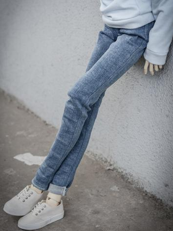 BJD Clothes Blue Jeans Trousers A187 for MSD/SD/70cm Size Ball-jointed Doll