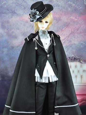 BJD Boy/Male Clothes Black ...