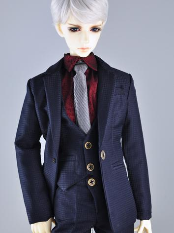 BJD Boy/Male Clothes Dark B...
