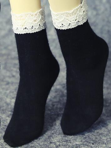 Bjd Socks Girl Short Socks for SD/MSD Ball-jointed Doll