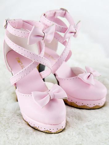 High Heels Girl/Female Pink/Wine/White/Blue Lady Shoes for SD16 Ball-jointed Doll