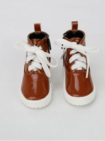 1/3 1/4 Shoes Male White/Br...