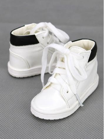1/3 1/4 Shoes Male White/Bl...