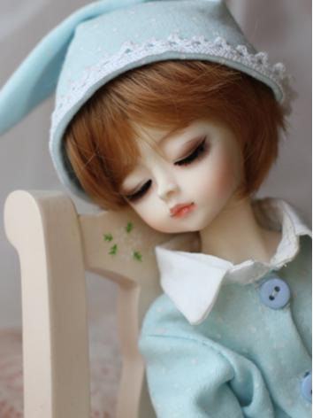 BJD Sleeping Strawberry*2 27cm Girl Ball Jointed Doll