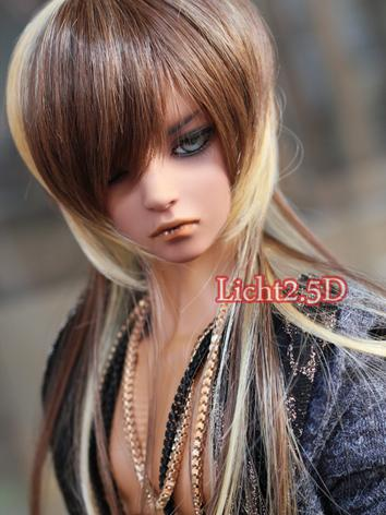 1/3 1/4 1/6 Wig Boy/Girl Long Hair A1 for SD/MSD/YSD Size Ball-jointed Doll