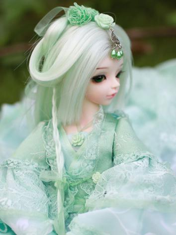 1/4 Wig BIYAN Hair for MSD Size Ball-jointed Doll