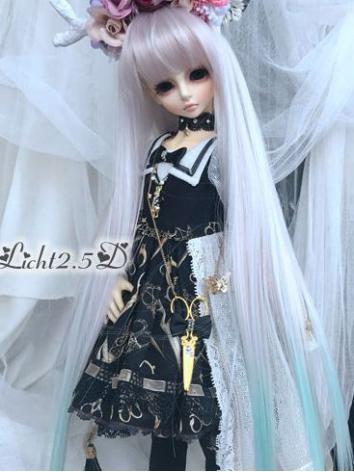 1/4 Wig Girl Straight Hair[174] for SD/MSD/YSD Size Ball-jointed Doll