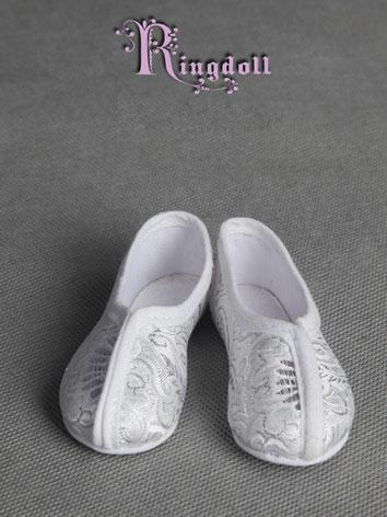 70cm Male Shoes Ancient White Shoes Rshoes70-8 for 70cm Size Ball-jointed Doll
