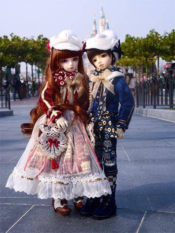 1/4 Clothes Boy/Girl Suit for MSD/DSD Ball-jointed Doll