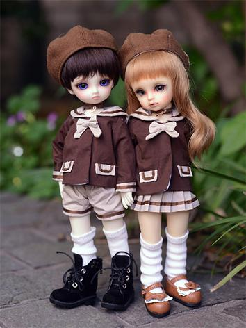 1/6 Clothes Boy/Girl Uniform Suit for YSD Ball-jointed Doll
