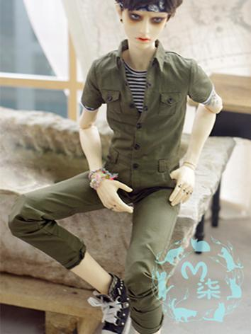 BJD 1/3 Clothes Boy Jumpsui...