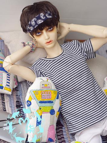 BJD 1/3 Clothes Boy Stripe ...