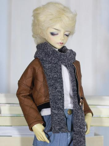 1/4 Clothes Boy Brown Jacket+Trousers Leisure Suit for MSD Ball-jointed Doll