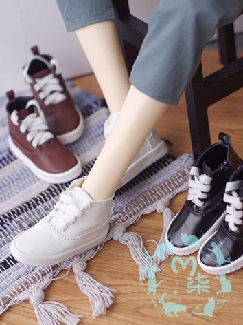 1/3 1/4 Shoes Male White/Brown/Black Leisure Shoes for SD/MSD Size Ball-jointed Doll