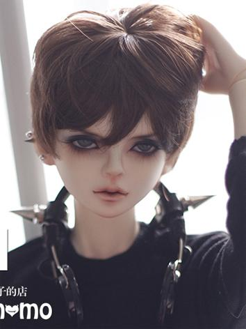 1/3 Wig 9-10inch Wig Male Dark Brown Hair A01 for SD Size Ball-jointed Doll