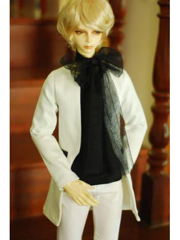 1/3 70cm Clothes White Coat...