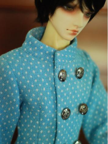 1/3 70cm Clothes Double-breasted Outwear Coat A011 for SD/70cm Size Ball-jointed Doll