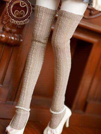 1/3 1/4 Socks Lady High Sto...
