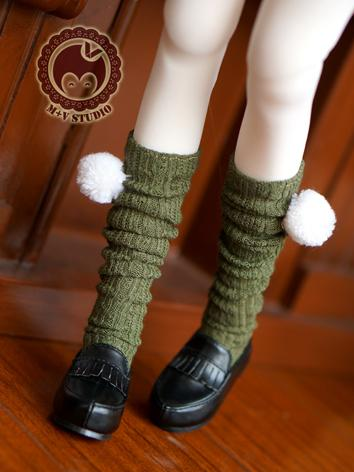 1/3 1/4 Socks Lady Knee Stockings for SD/MSD Ball-jointed Doll