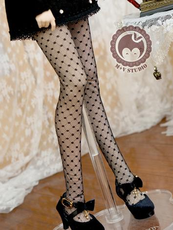 1/3 Socks Lady Black Sexy High Stockings for SD Ball-jointed Doll