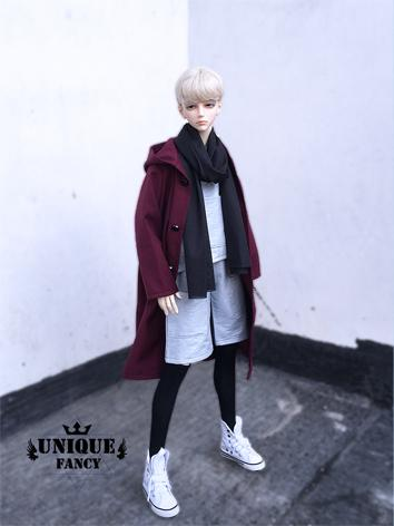 1/3 70cm Clothes Boy Wine W...
