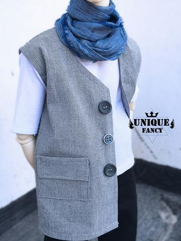 1/3 70cm Clothes Boy Gray/B...
