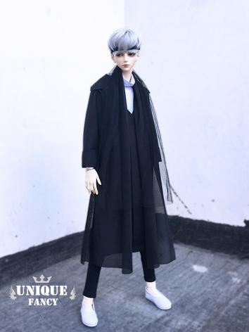 1/3 70cm Clothes Boy Black ...