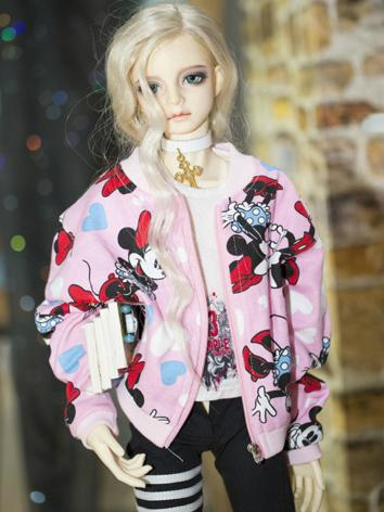 1/3 Clothes Male Pink Coat ...