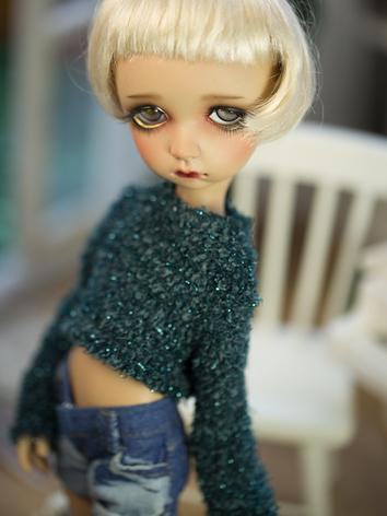 1/6 Clothes Short Green Swe...