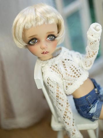 1/6 Clothes Short White Swe...