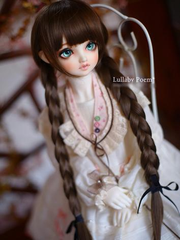 1/3 Wig Sweet Girl Chocolate Brunches Hair LPW034 for SD Size Ball-jointed Doll