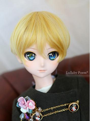 1/3 Wig Girl Yellow Short H...