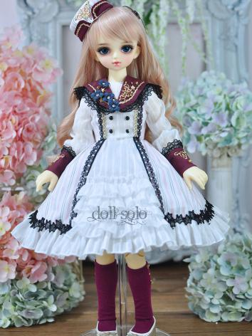 1/3 1/4 bjd Girl Blue/Red S...