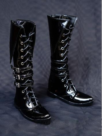 1/3 1/4 Shoes Male Black Hi...
