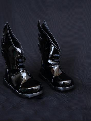 1/3 1/4 Shoes Male Black Sh...