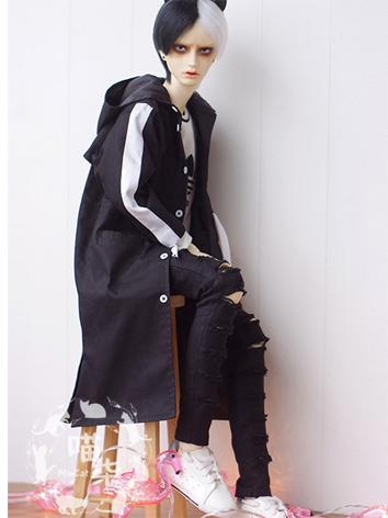 BJD Clothes Boy Black/Mint/...