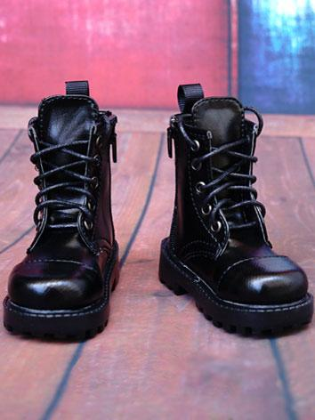 1/3 1/4 70cm Shoes Male Black Shoes for SD/70cm/MSD Ball-jointed Doll