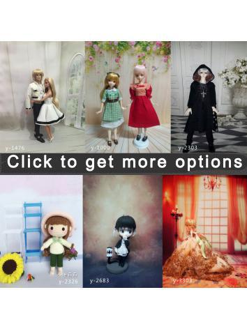 BJD Background/Scenery/Backdrop Photography Wall Settings Indoors Series Ball-jointed Doll