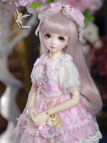 Bjd Clothes Girl Aimee Pink...